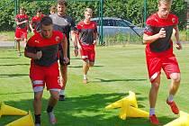 První tréninky má za sebou nově vytvářený juniorský tým FC Viktorie Plzeň.