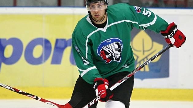 Obránce Vojtěch Mozík, který se upsal týmu z New Jersey, trénuje v Plzni.