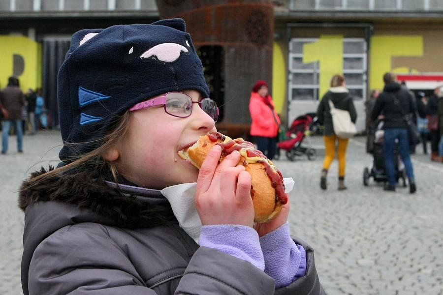 DEPO Street Food Market v Plzni.