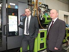 Odborní ředitelé společnosti Okula Nýrsko Emil Ondr (vlevo) a Libor Duchek
