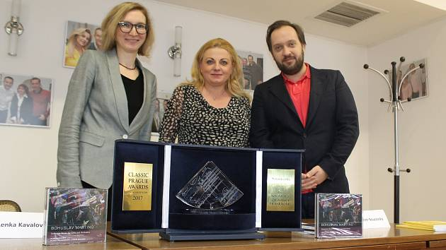 Album Bohuslav Martinů: Kompletní dílo pro violoncello a orchestr, vydané v listopadu 2017 u německé nahrávací společnosti Dabringhaus und Grimm získalo ocenění Classic Prague Awards 2017 v kategorii Nahrávka roku.