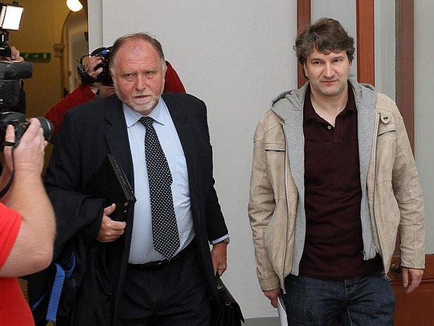 Jan Polák (vpravo)