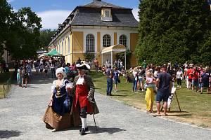 Na Kozlu oslavili 230. výročí dostavby zámku.