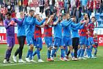 Ze zápasu Viktoria vs Teplice