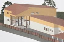 Dětský domov v Trnové se díky přístavbě zvýší    o jedno patro. Přibude mu také prosklená chodba se schodištěm a bezbariérovým výtahem