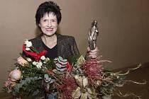 Eva Hubatová převzala Cenu Evropské unie umění