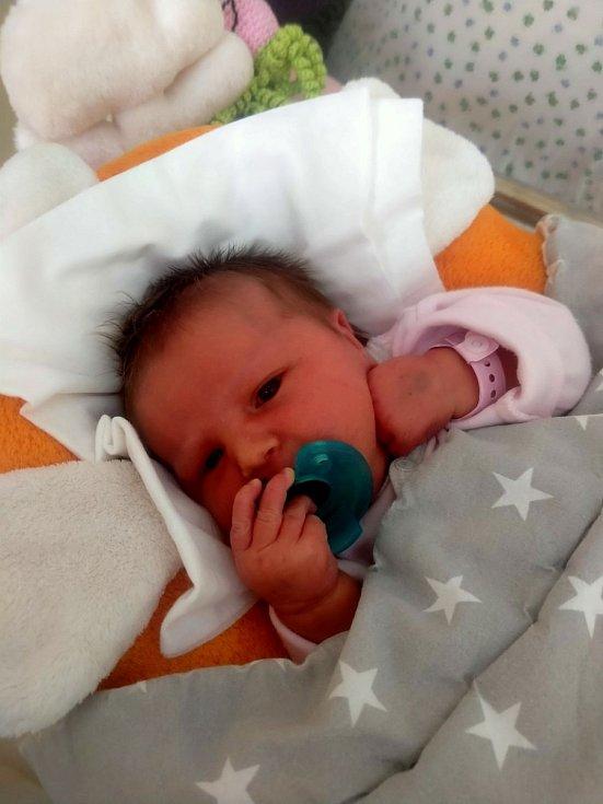 Natálie Rubická ze Sokolova se narodila 11. března 2021 ve 14:14 hodin v Karlovarské nemocnici (2990 g, 47cm) mamince Pavle a tatínkovi Pavlovi.