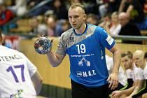 Jakub Tonar nastřílel Novému Veselí sedm branek a byl nejlepším kanonýrem Talentu Plzeň v utkání.