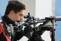 Sedmnáctiletý střelec Filip Nepejchal  dominoval  juniorům na víkendovém šampionátu.