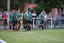 Rokycany (v zeleném) porazily Čížovou 1:0.