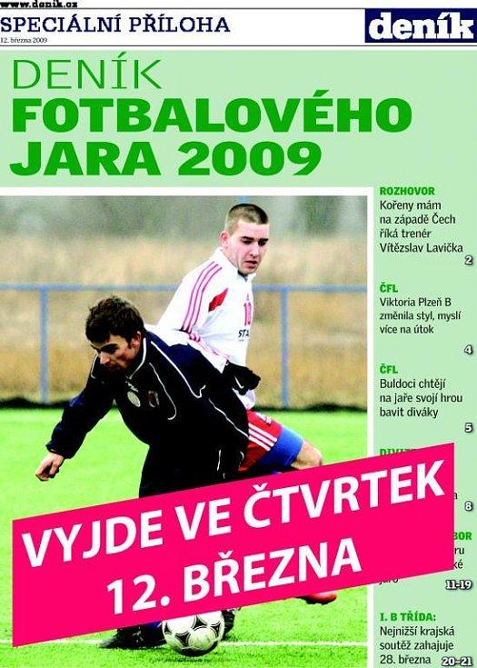 Deník fotbalového jara 2009
