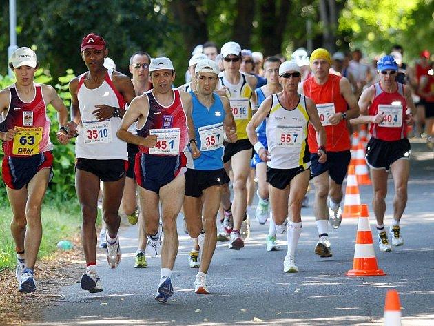 Zlatý maraton v Plzni.