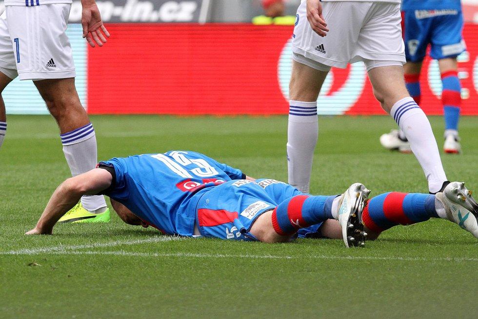 Fotbalisté Viktorie porazili Sigmu Olomouc 1:0.