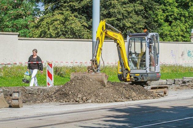 Rekonstrukce silnice uMikulášského náměstí vPlzni