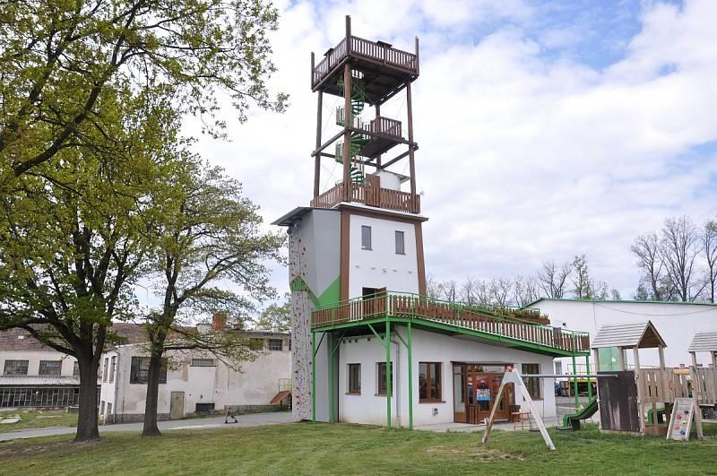 Rozhledna Šťastná věž.