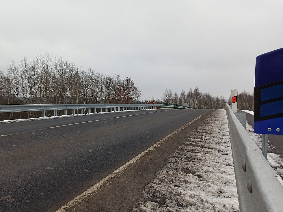 Most je otevřený. Uleví se okolním obcím i řidičům