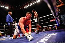 Pavel Šour na podlaze ringu.