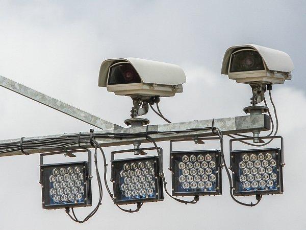 Kamery hlídají auto 600metrů. Pak jeho rychlost zprůměrují