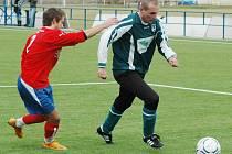 Robert Vágner oblékl v neděli v přípravném utkání v Plzni dres Chomutova.
