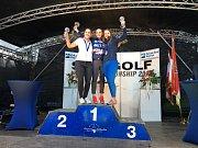 Prvenství Evy Koželuhové ve ski-golfu