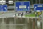 Povodně v Plzni - 13. srpna 2002