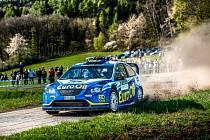 Václav Pech jun. se na Rallye Plzeň představí s vozem Ford Focus WRC.