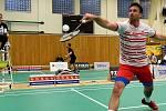 Trojnásobný účastník olympiády Petr Koukal zvítězil na badmintonové Velké ceně města Plzně.