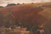 Obraz Šumavská osada od Vladimíra Levory