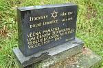 Židovský hřbitov v Dolní Lukavici.