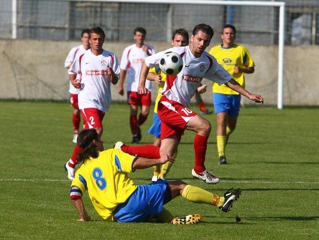 Fotbalisté Senco Doubravka se s účinkováním v divizi rozloučili domácí porážkou s Voticemi 1:4.