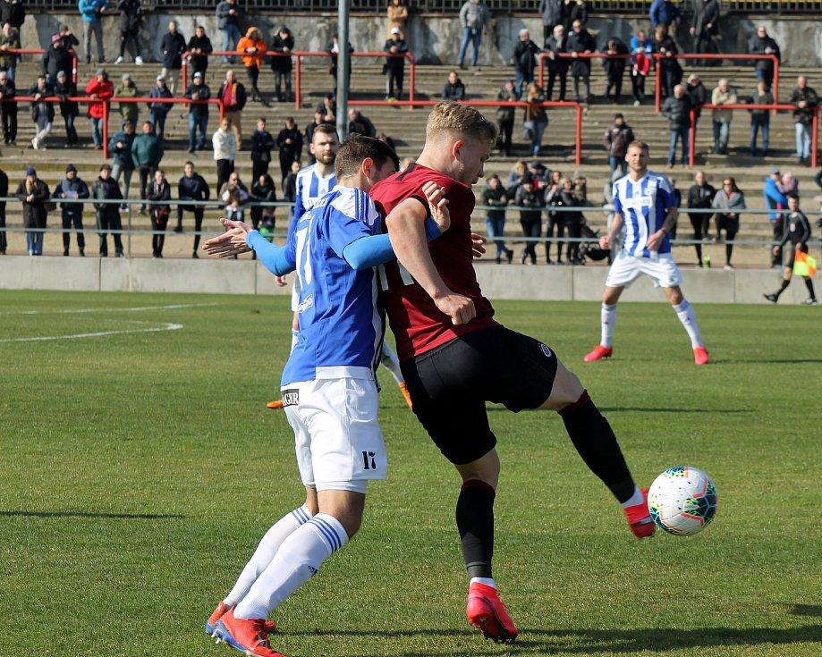 FORTUNA ČFL: Sparta Praha B - Domažlice 3:1.
