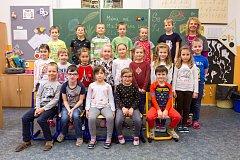 26. základní škola - pracoviště Litice - 1.A. Třídní učitelka Růžena Čulíková