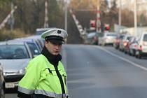 V další bezpečnostní akci se policie zaměřila na kontrolu jízdy řidičů na železničních přejezdech