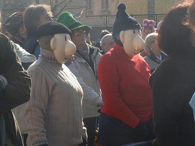 Lidé z Plzně-Radčic s v sobotu užívali masopustní veselí