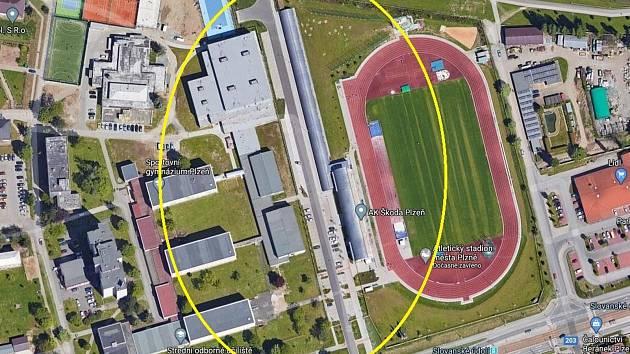 Atletům postaví tunel s běžeckými drahami či prostory pro skok o tyči