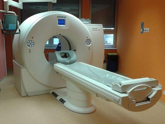 Dvouzdrojové multidetektorové CT, které je součástí vybavení  Kliniky zobrazovacích metod FN Plzeň
