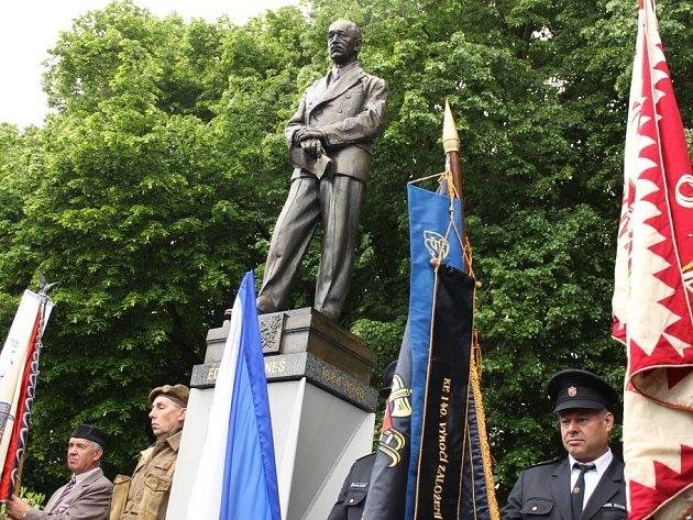 Oslavy 130. výročí narození Edvarda Beneše v Kožlanech.
