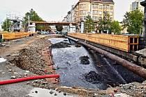 Opravy Wilsonova mostu pokračují pomaleji, než se čekalo