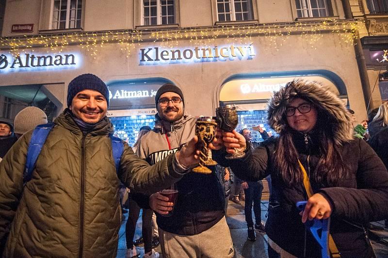Silvestr a Nový rok 2020 v Plzni