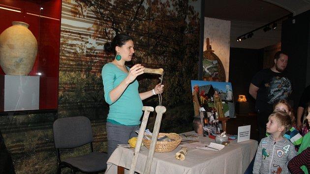 Archeologický workshop v Západočeském muzeu v Plzni