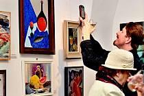 Výstava Zátiší začala v Galerii Jiřího Trnky v prosinci, původně bylo ohlášeno, že skončí 24. ledna. Její kurátor Jaroslav Hausner však oznámil, že byla prodloužena a potrvá až do konce února.