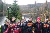 Cyklisté kontinentálního týmu AC Sparta se v sestavě pro novou sezonu sešli poprvé při soustředění na Šumavě.