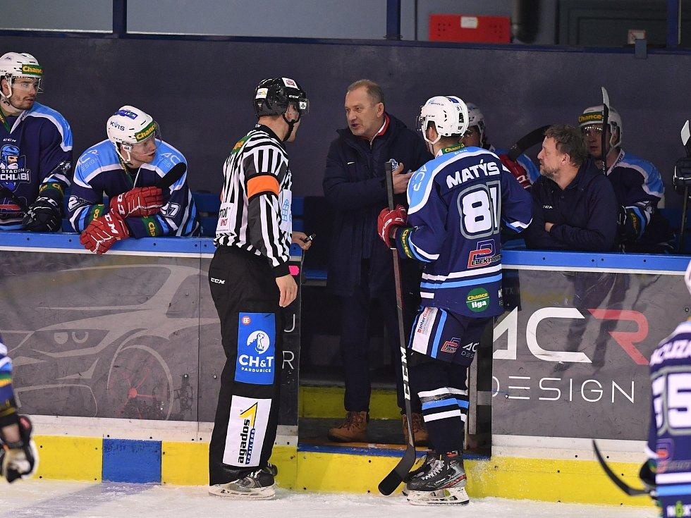 Václav Baďouček trénoval poslední tři roky hokejisty Vrchlabí, které letos vypadlo ve čtvrtfinále play-off první ligy se Vsetínem.