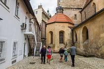 Plzeňské dvorky. Ilustrační foto