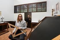 Autorka interaktivní výstavy Za barokem Kristýna Jirátová.