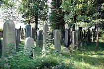 Židovský hřbitov v Kasejovicích.