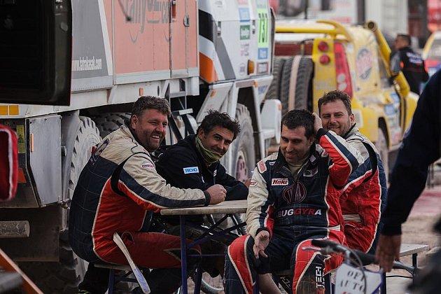 Tým Tatra Buggyra Racing na Rallye Dakar