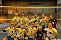 Vítězná sestava týmu USK Slavie Plzeň.