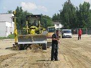 V nýřanském DIOSSu začala ve středu výstavba obří haly