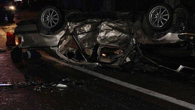 Nehodu minulý víkend nepřežili dva mladíci